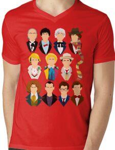 The Eleven Doctors  Mens V-Neck T-Shirt