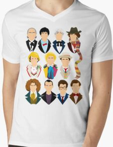 The Eleven Doctors  Mens V-Neck T-Shirt
