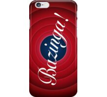 And that is all...BAZINGA! iPhone Case/Skin
