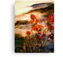 On Wu Mountain.... Canvas Print