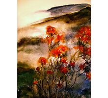 On Wu Mountain.... Photographic Print