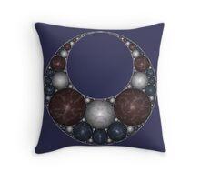 Apollonian Necklace II Throw Pillow