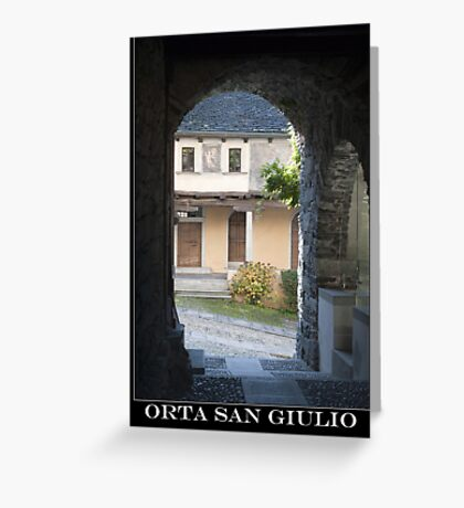 orta san giulio Greeting Card
