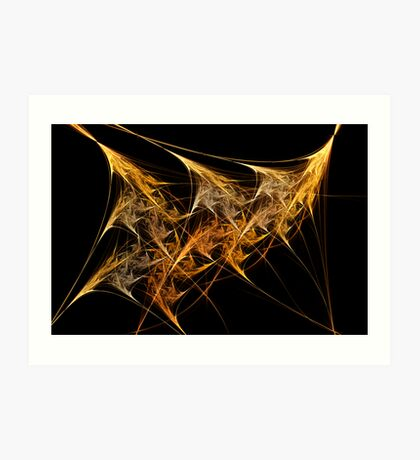 Dragon Flame 01 Art Print