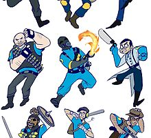 Team Fortress 2 by hijinxx