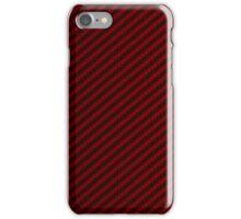 Red Carbon Fiber Case iPhone Case/Skin