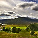 View from Drumochter Pass by GillBell