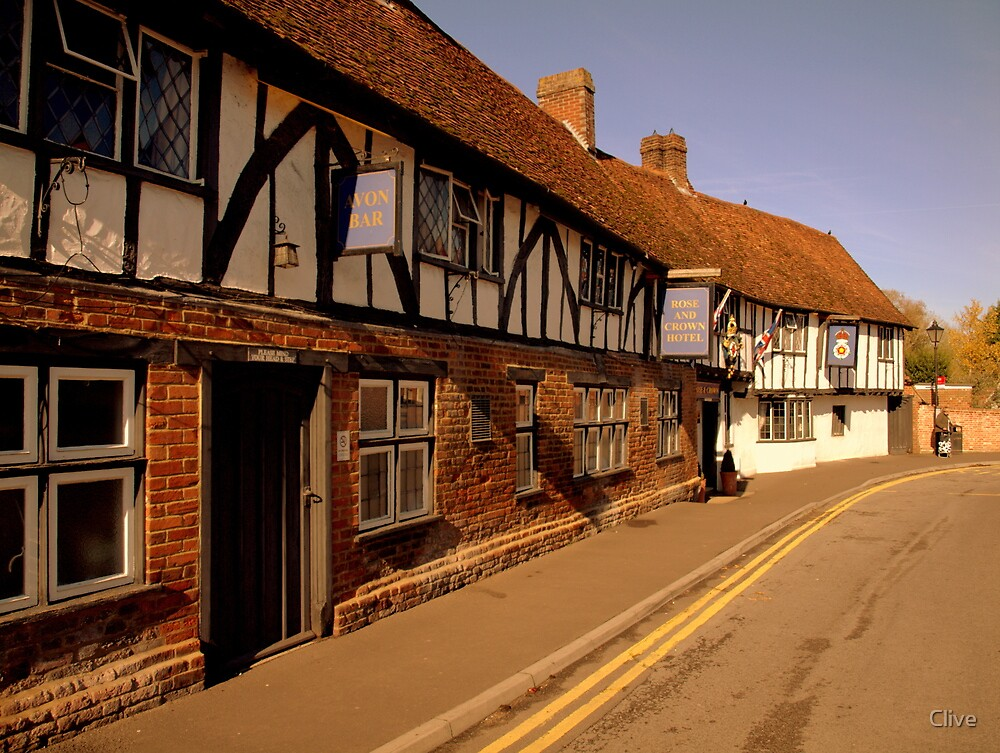 The Rose and Crown Hotel ~ Salisbury by Clive