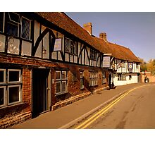 The Rose and Crown Hotel ~ Salisbury Photographic Print