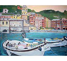 Vernazza Harbor, Italy Photographic Print