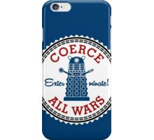 Coerce All Wars (clean) iPhone Case/Skin
