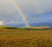 Loch Ness Rainbow by Chuck Zacharias