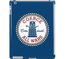 Coerce All Wars (clean) iPad Case/Skin