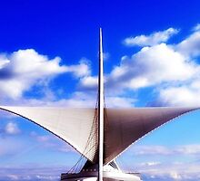 MAM...Milwaukee Art Museum © by Dawn M. Becker