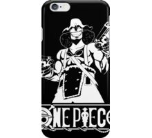 Guns And Usopp (Custom Funny) iPhone Case/Skin