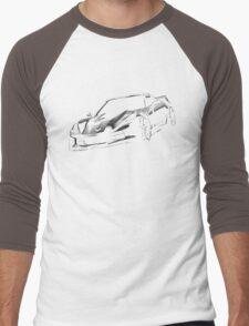 chevrolet corvette car Men's Baseball ¾ T-Shirt