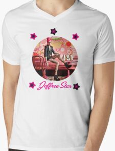 Jeffree Star  Mens V-Neck T-Shirt