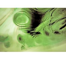 Water and Oil Abstract 7 Photographic Print