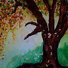 Fall Tree by Mitch Adams