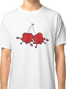 Splat! Cute Cheeky Cherries Classic T-Shirt