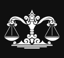 Zodiac Sign Libra White by elangkarosingo