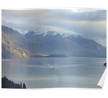 Ferry to Queenstown Poster