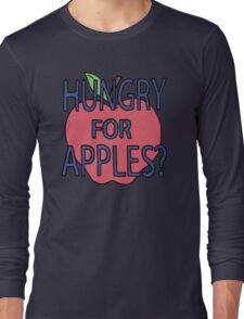 Rick & Morty - Hungry for Apples Long Sleeve T-Shirt