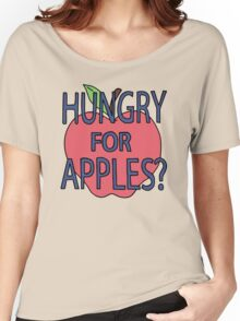 Rick & Morty - Hungry for Apples Women's Relaxed Fit T-Shirt