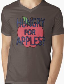 Rick & Morty - Hungry for Apples Mens V-Neck T-Shirt