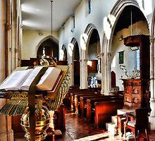 St Nicholas' Church ~ Abbotsbury by Susie Peek