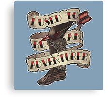 Adventurer Like You Canvas Print
