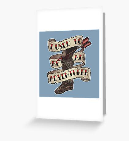 Adventurer Like You Greeting Card