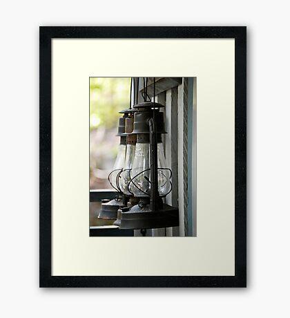 Lamps+ Framed Print