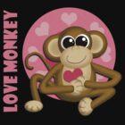 Love Monkey  by Starzraven