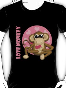 Love Monkey  T-Shirt