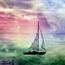 Fantasy Sailing  by Dawn M. Becker