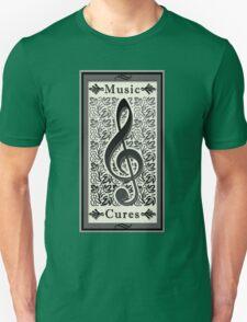 Music Cures Unisex T-Shirt