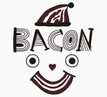 Bacon Face One Piece - Short Sleeve