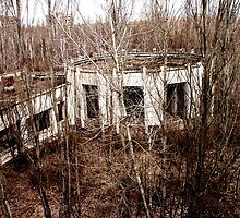 Building in Pripyat by Wintermute69