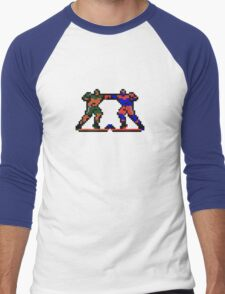 Blades of Steel Men's Baseball ¾ T-Shirt