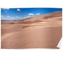Star Dune - Great Sand Dunes, Colorado Poster