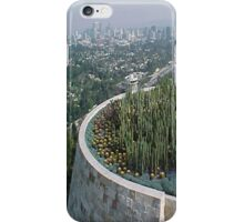 Hazy Los Angeles... iPhone Case/Skin