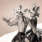 Mwokilese Dancers - Pohnpei, Micronesia by Alex Zuccarelli