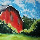 Virginia Barn by Mitch Adams