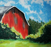 Virginia Barn by Debbie  Adams