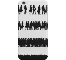Crowd of managers iPhone Case/Skin