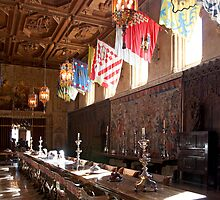 Grand Dining Hall, Hearst Castle, California by Brendon Perkins