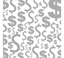 Dollar a background Photographic Print