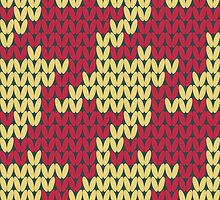 Faux Knit Houndstooth by Kelsey Cretcher