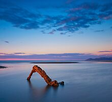 Sunset Glow at Low Tide by PhotoByTrace